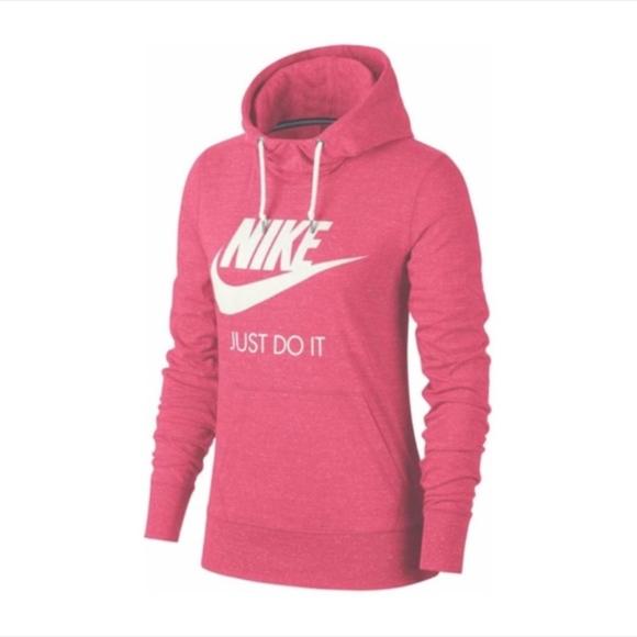 Women Nike Gym Vintage Lightweight Pullover Hoodie NWT